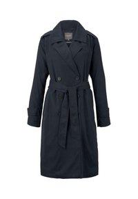 mine to five TOM TAILOR - TENCEL TRENCHCOAT - Trenchcoat - sky captain blue - 0