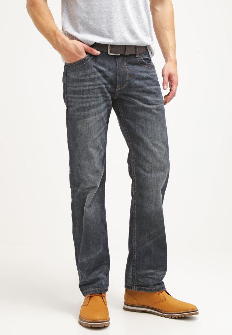 TOM TAILOR - Jeans Relaxed Fit - dark indigo