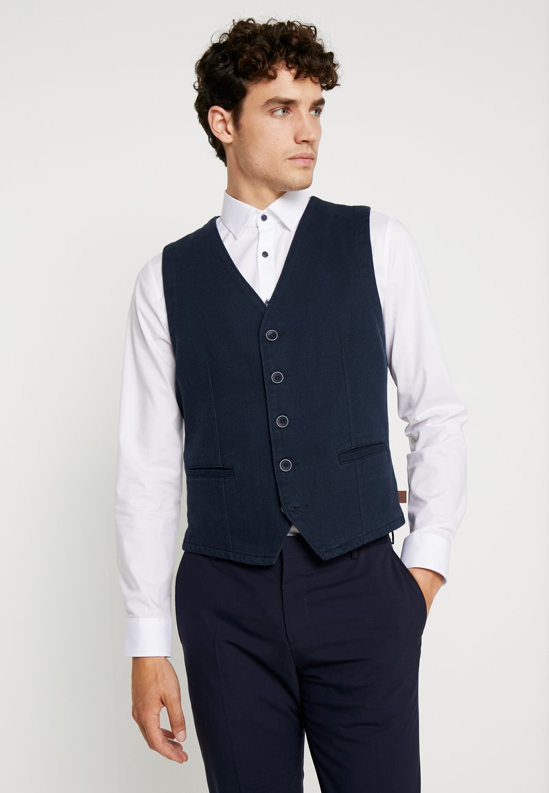 TOM TAILOR - CASUAL VEST - Bodywarmer - sky captain blue
