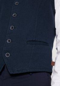 TOM TAILOR - CASUAL VEST - Smanicato - sky captain blue - 5