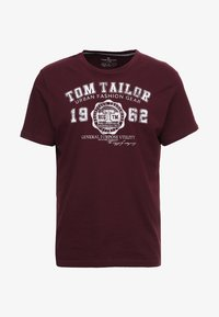 TOM TAILOR - NEW LOGO - T-Shirt print - gipsy purple - 3