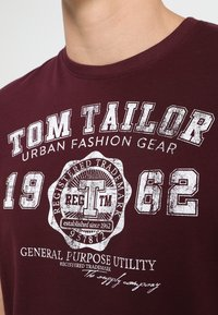 TOM TAILOR - NEW LOGO - T-Shirt print - gipsy purple - 4