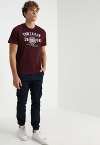 TOM TAILOR - NEW LOGO - T-Shirt print - gipsy purple - 1