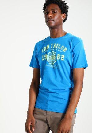 NEW LOGO - T-shirt con stampa - danish blue