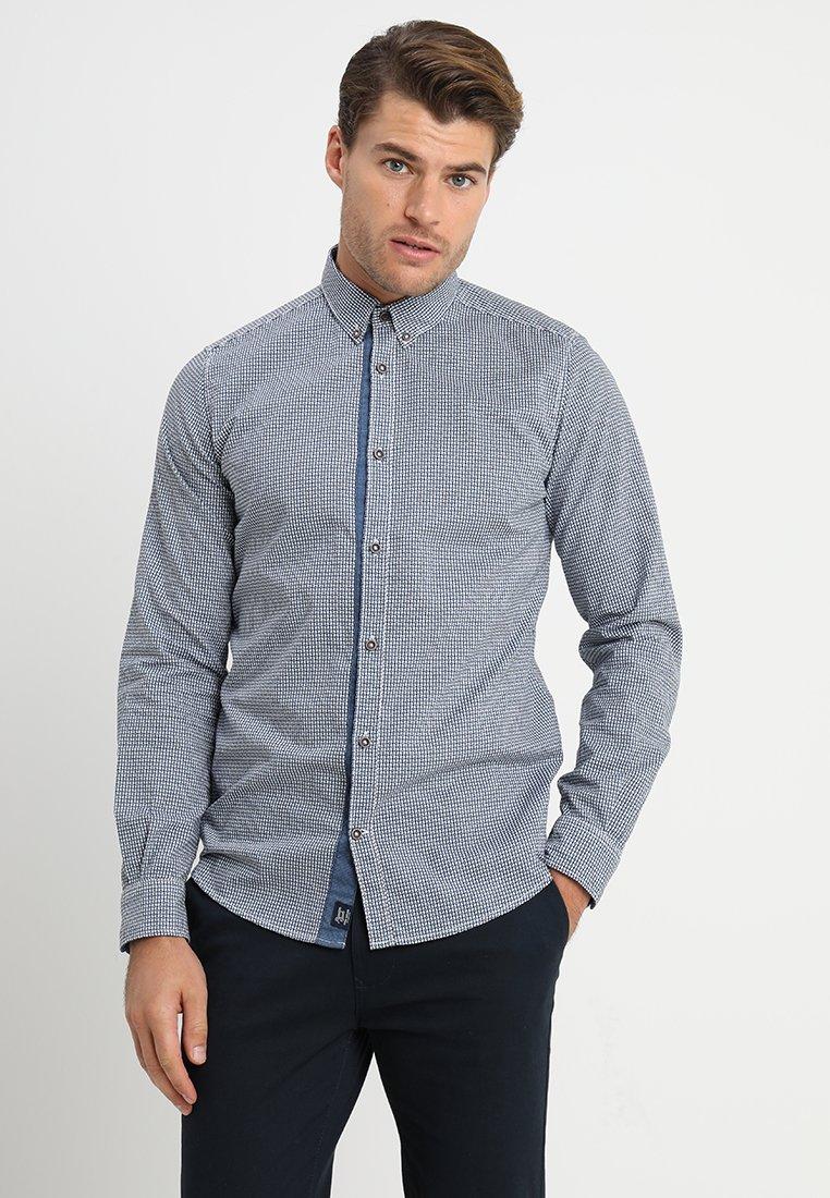 TOM TAILOR - Overhemd - navy blue/blue