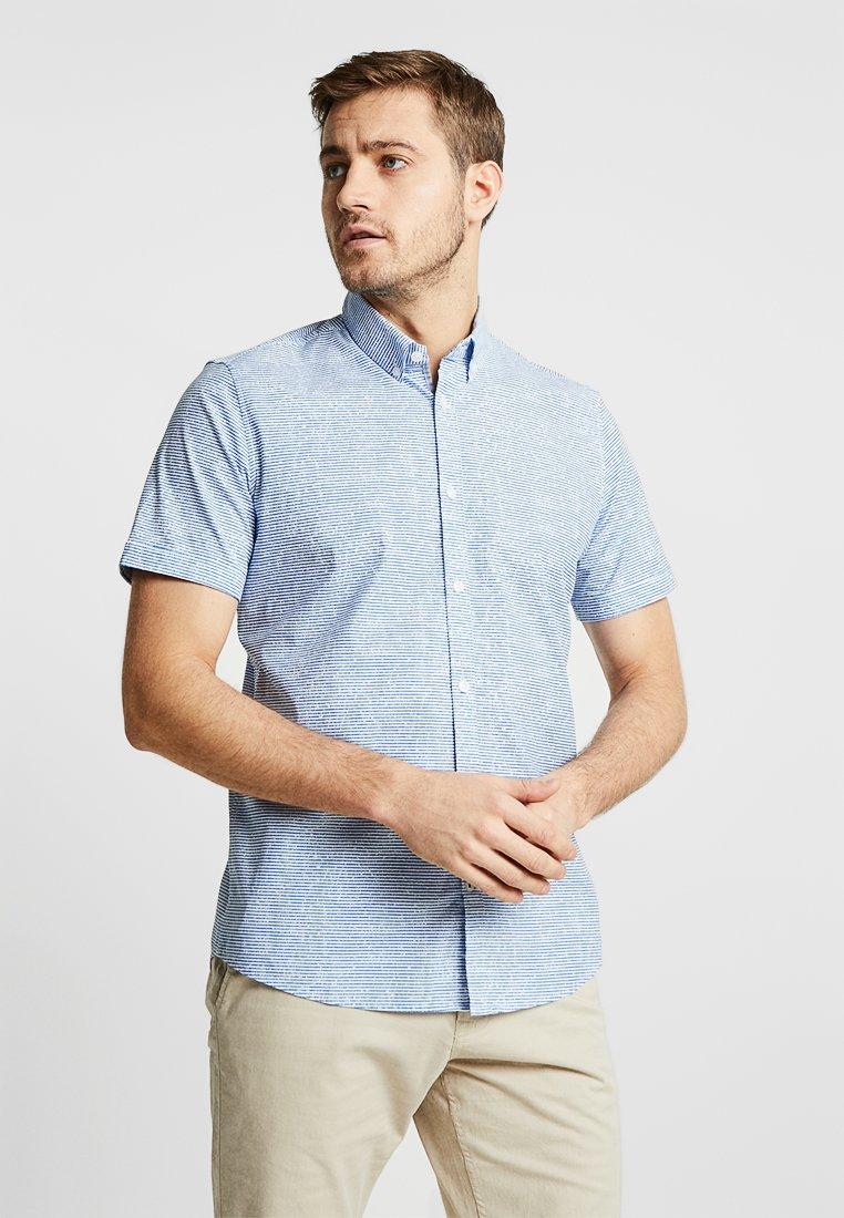 TOM TAILOR - FLOYD PRINTED - Skjorter - blue