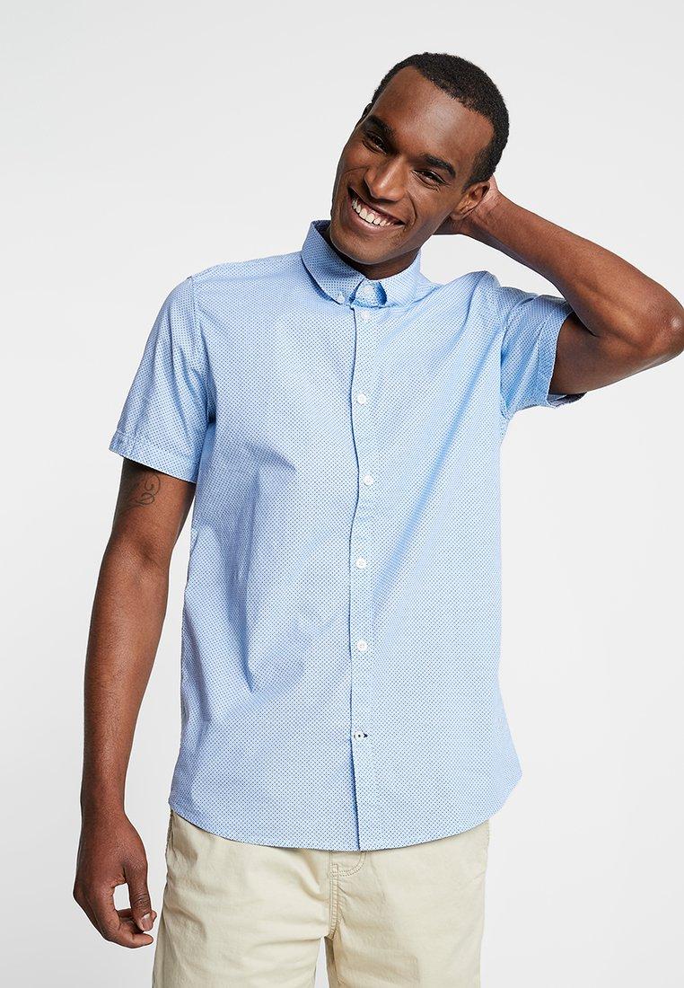 TOM TAILOR - FLOYD PRINTED - Shirt - bright blue/navy