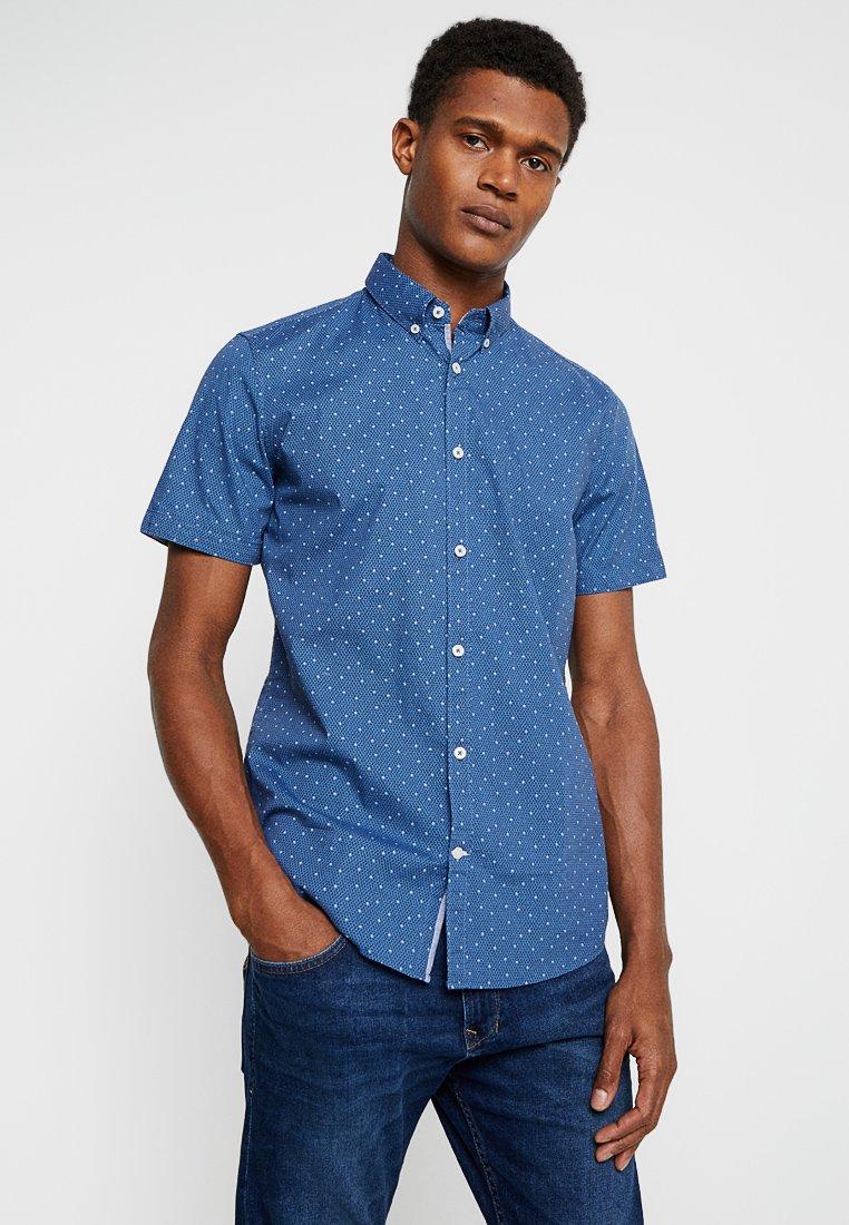 TOM TAILOR - FLOYD PRINTED - Shirt - blue navy element
