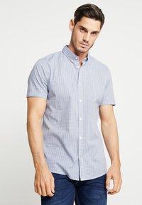 TOM TAILOR - FLOYD PRINTED - Shirt - navy blue - 0
