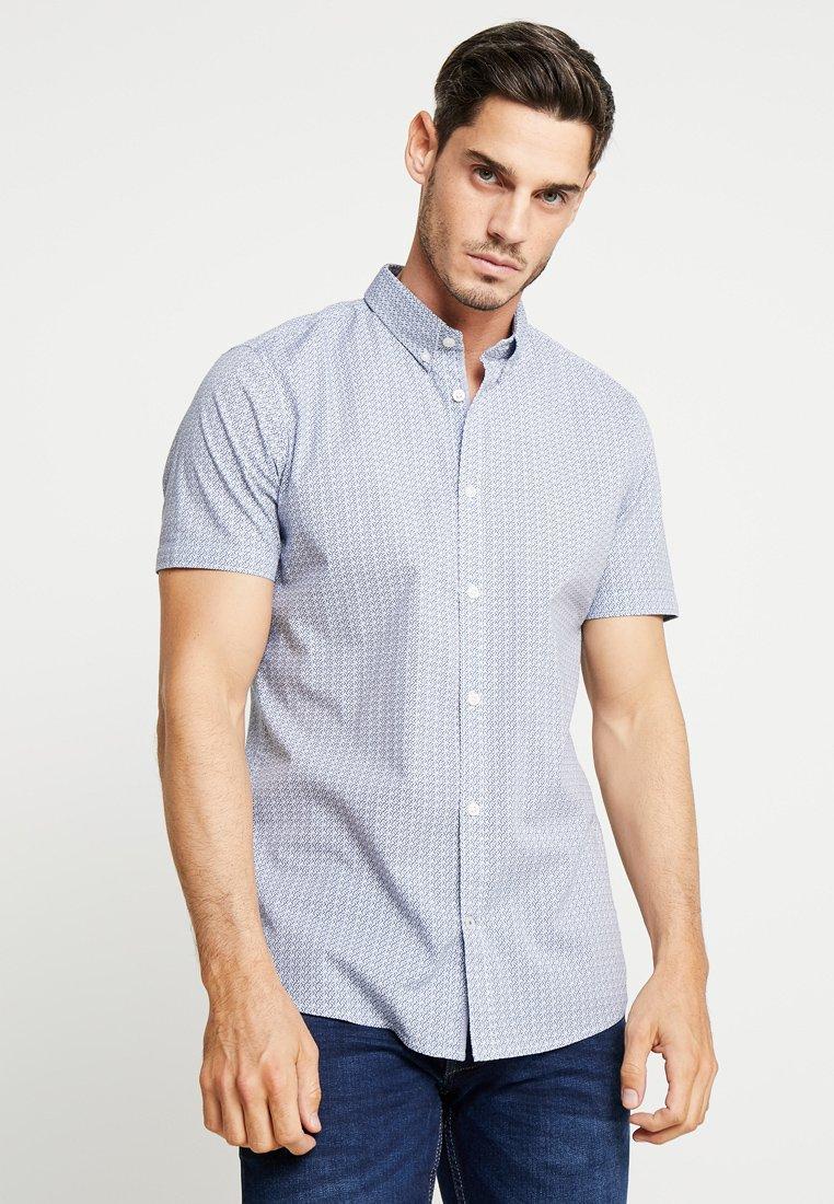 TOM TAILOR - FLOYD PRINTED - Shirt - navy blue