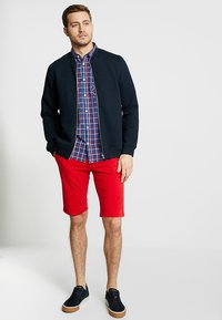TOM TAILOR - CHECK PACKAGE SHIRT - Chemise - blue/red - 1