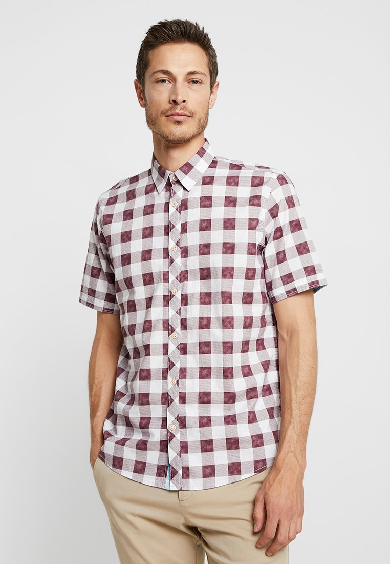 TOM TAILOR - RAY  - Shirt - washed burgundy