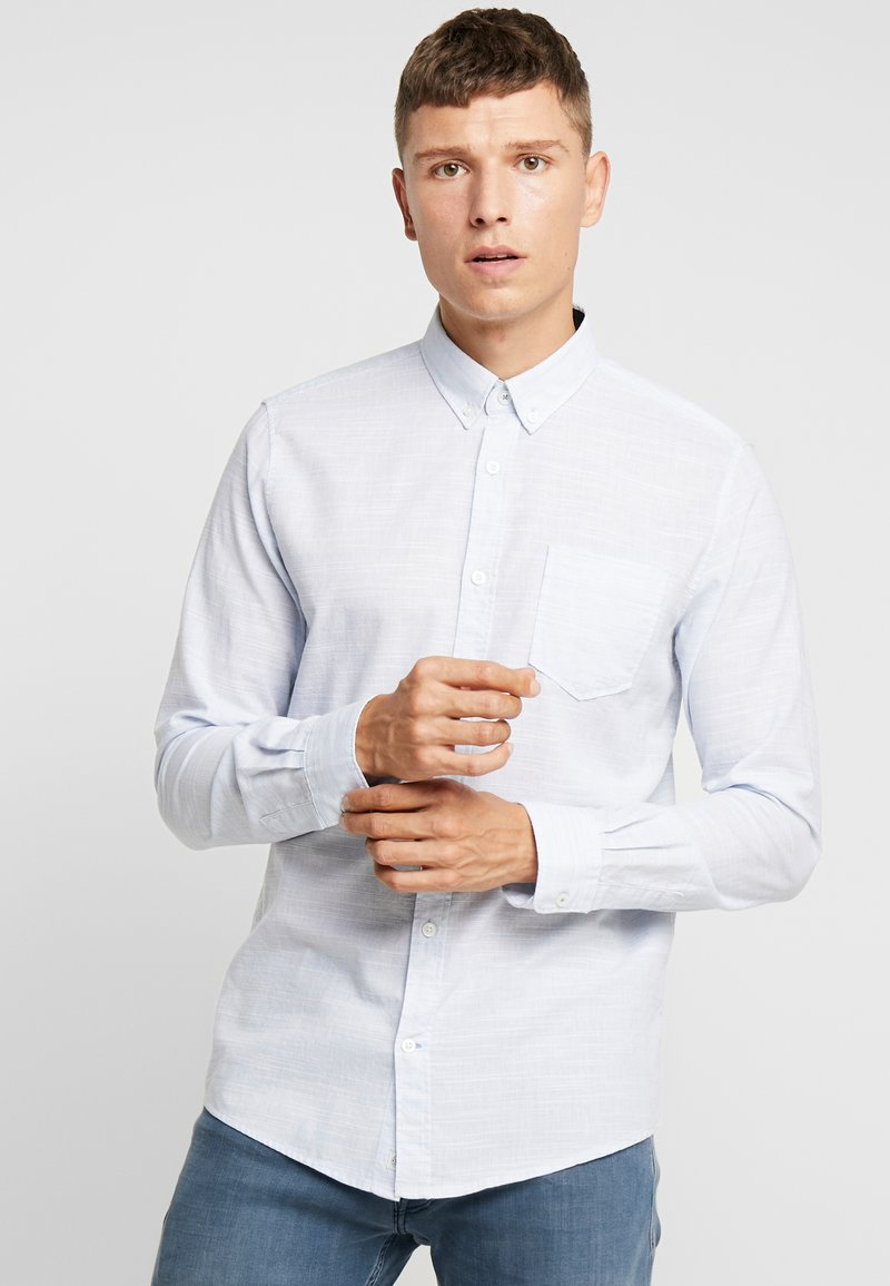 TOM TAILOR - RAY SLUB  - Camisa - light blue