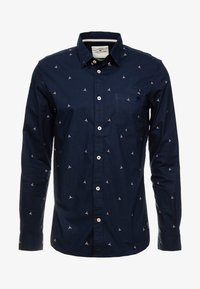 TOM TAILOR - FLOYD CONVERSATION - Hemd - blue - 4