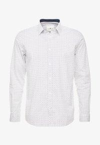 TOM TAILOR - RAY MINI PRINT REGULAR FIT - Skjorta - light blue - 3