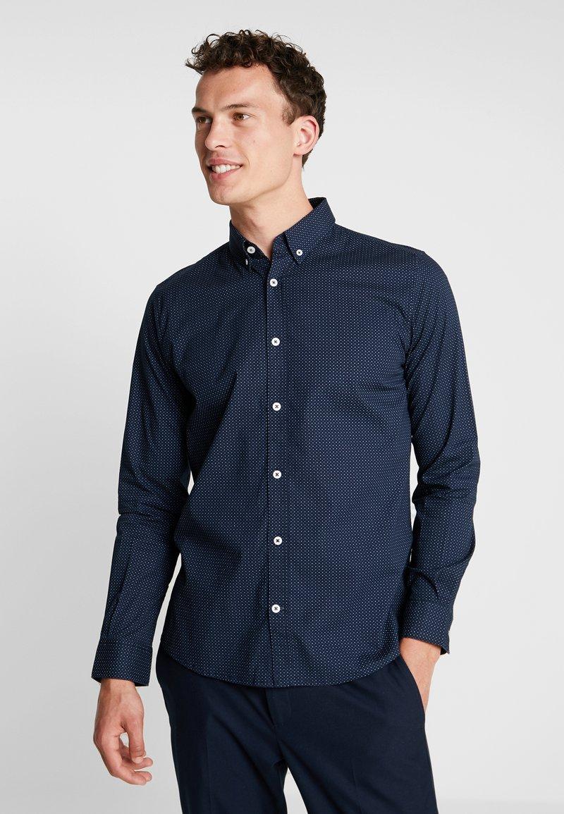 TOM TAILOR - RAY MINI PRINT REGULAR FIT - Skjorter - blue