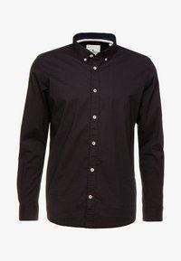 TOM TAILOR - RAY MINI PRINT REGULAR FIT - Skjorta - black/red/grey - 4