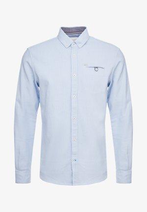 DOBBY  - Overhemd - light blue/white