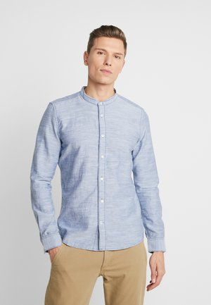 FLOYD HERRINGBONE  - Shirt - navy white
