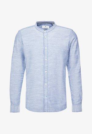 FLOYD HERRINGBONE  - Shirt - navy white