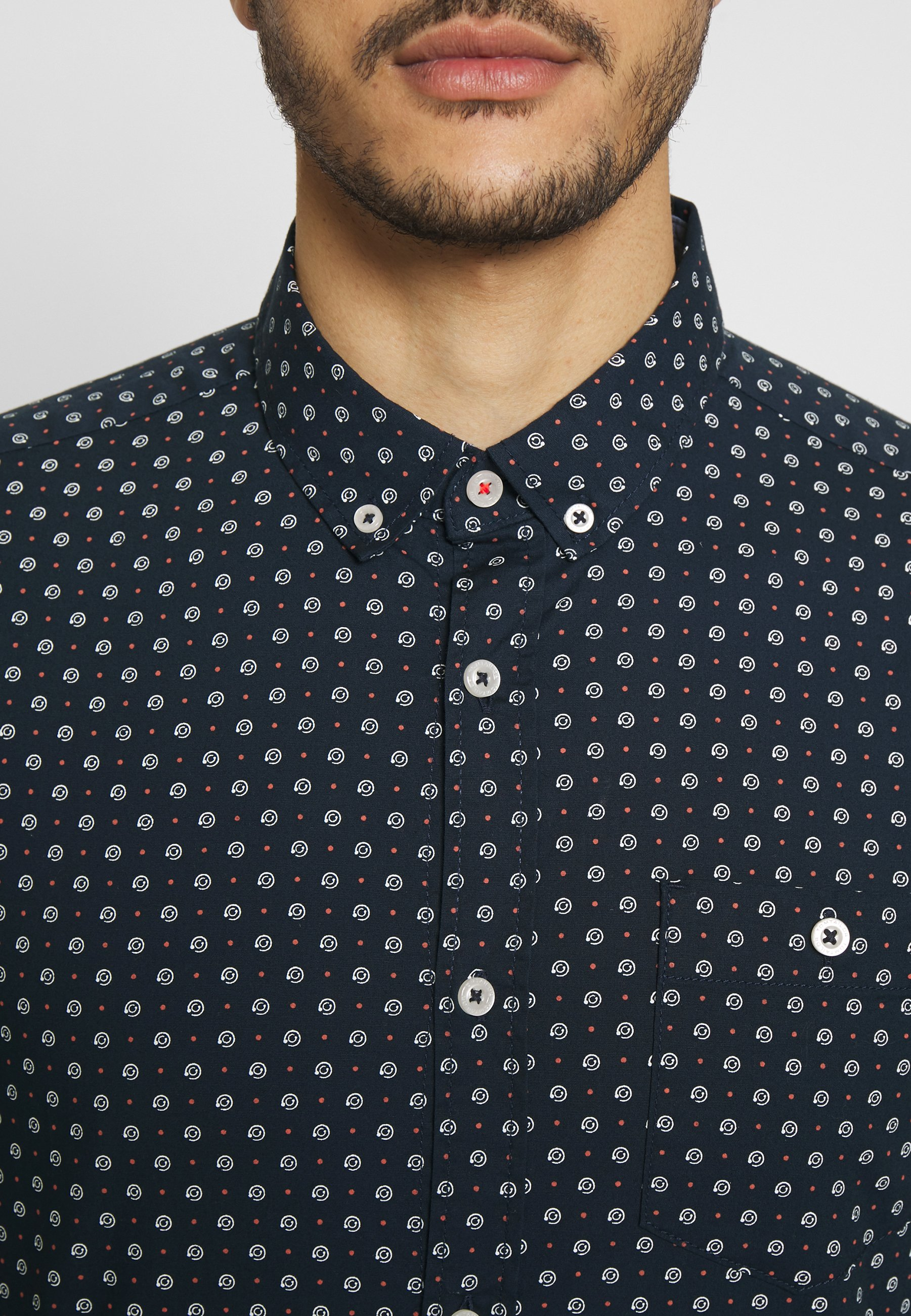Tom Tailor Floyd Space Print Shirt - Navy