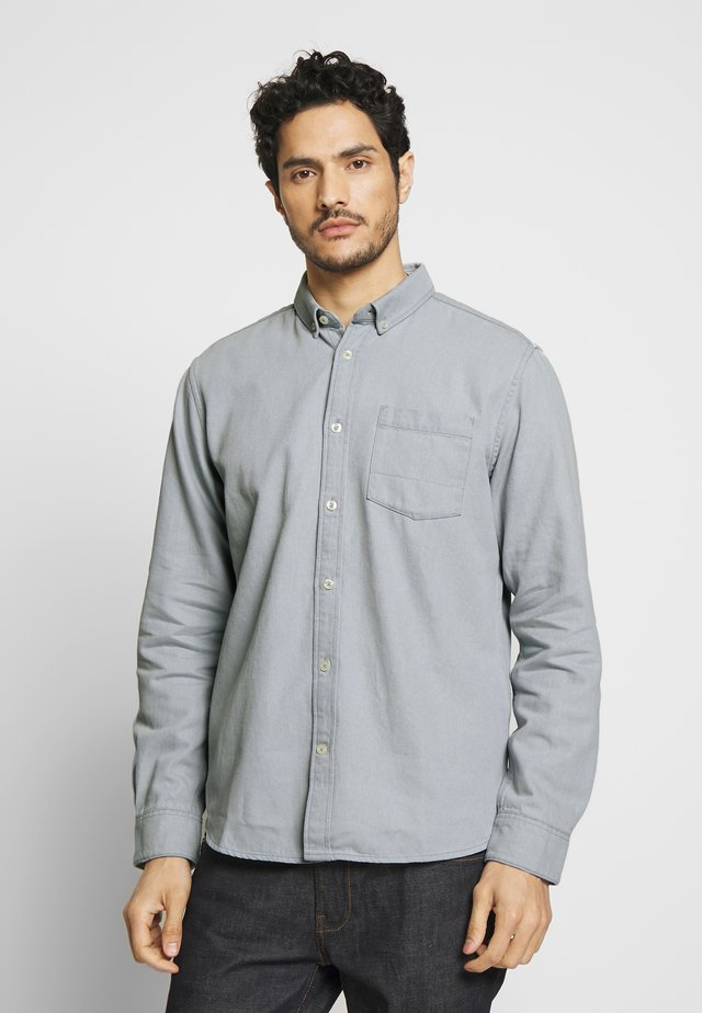 RAY - Shirt - grey denim