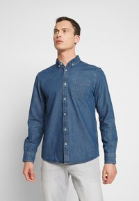 TOM TAILOR - RAY - Chemise - mid stone wash denim blue - 0
