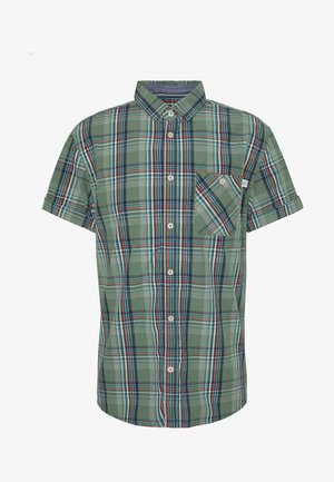 RAY COLOURFUL CHECK PACKAGE - Chemise - olive base blue