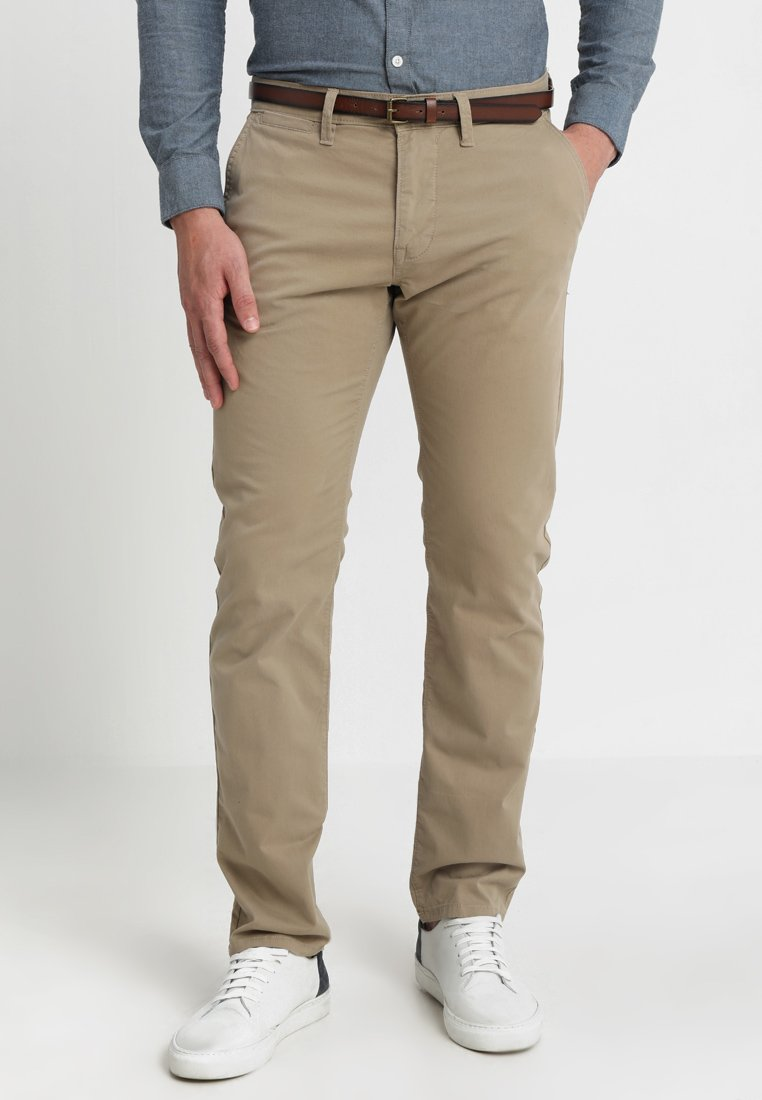 TOM TAILOR - TRAVIS REGULAR - Trousers - lunar eclipse