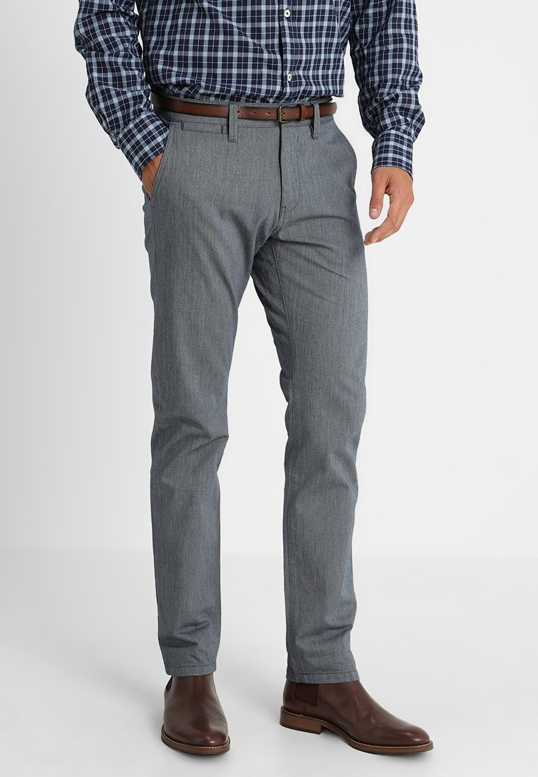 TOM TAILOR - ESSENTIAL STRUCTURE  - Chinos - navy