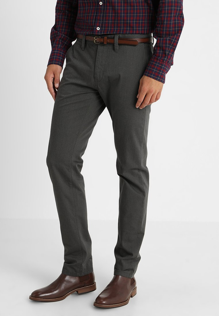 TOM TAILOR - ESSENTIAL STRUCTURE  - Chinos - black
