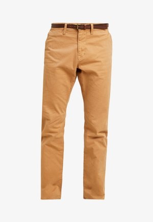 ESSENTIAL  - Spodnie materiałowe - hay beige