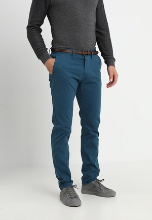 ESSENTIAL  - Trousers - teal petrol
