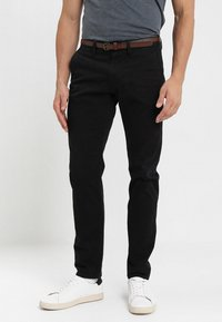 TOM TAILOR - ESSENTIAL  - Trousers - black - 0