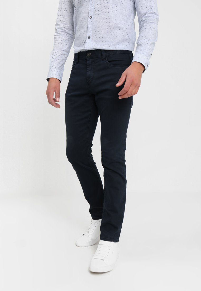 TOM TAILOR - JOSH - Vaqueros slim fit - navy blue
