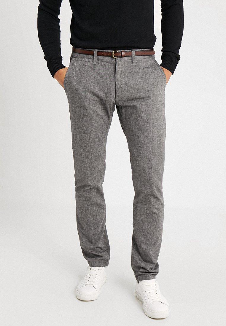 TOM TAILOR - STRUCTURE - Pantalon classique - grey