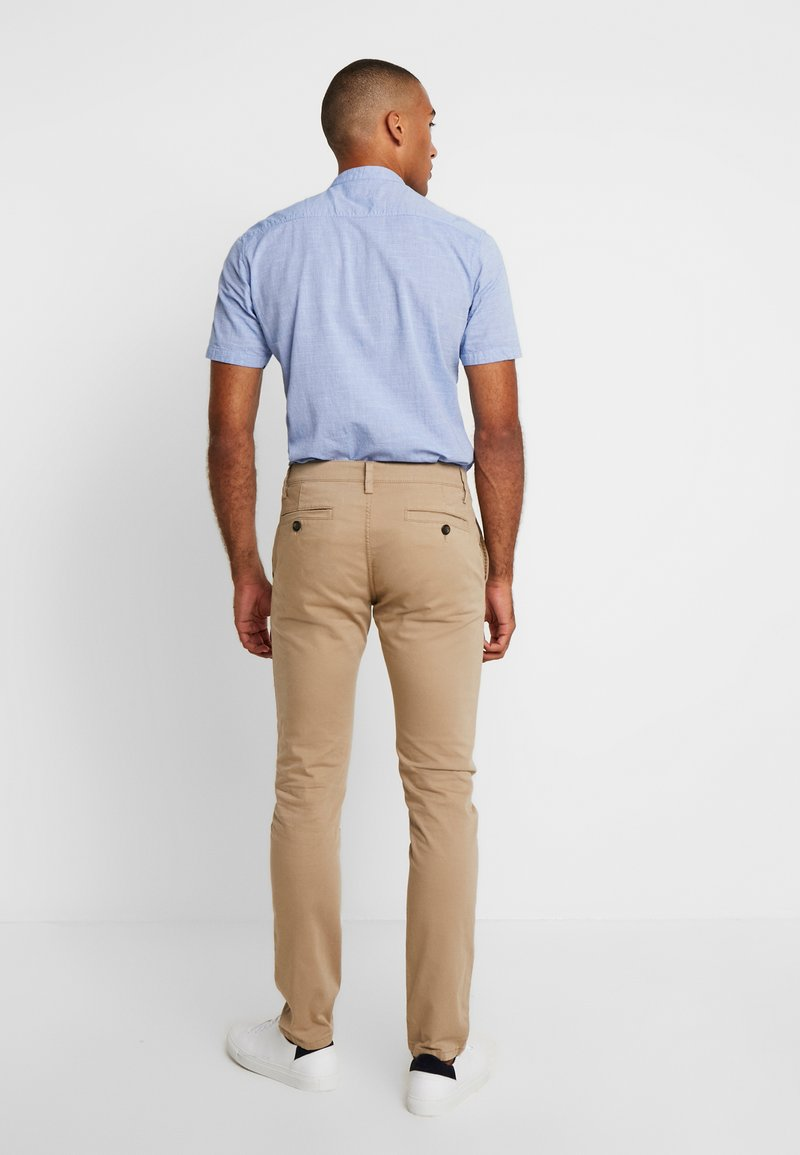 TOM TAILOR - WASHED STRUCTURE  - Chino - beige