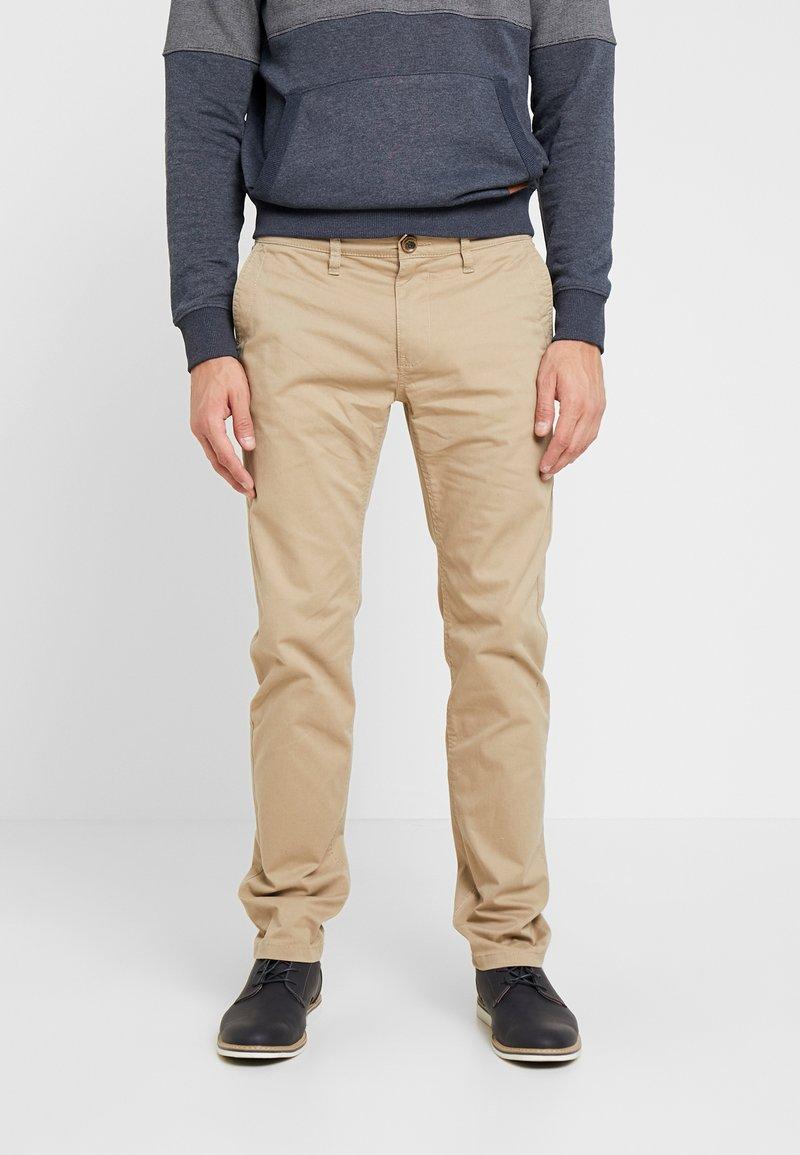 TOM TAILOR - Pantalones chinos - chinchilla brown
