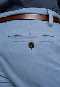 TOM TAILOR - WASHED STRUCTURE - Chinot - light blue - 5