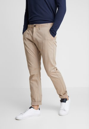 Chinos - dye beige / brown