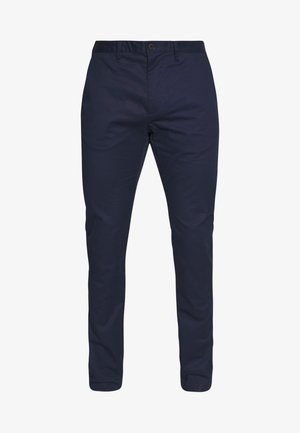 TECH  - Chino kalhoty - black iris blue