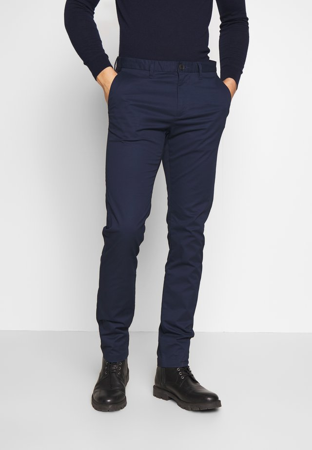 TECH  - Chinos - black iris blue