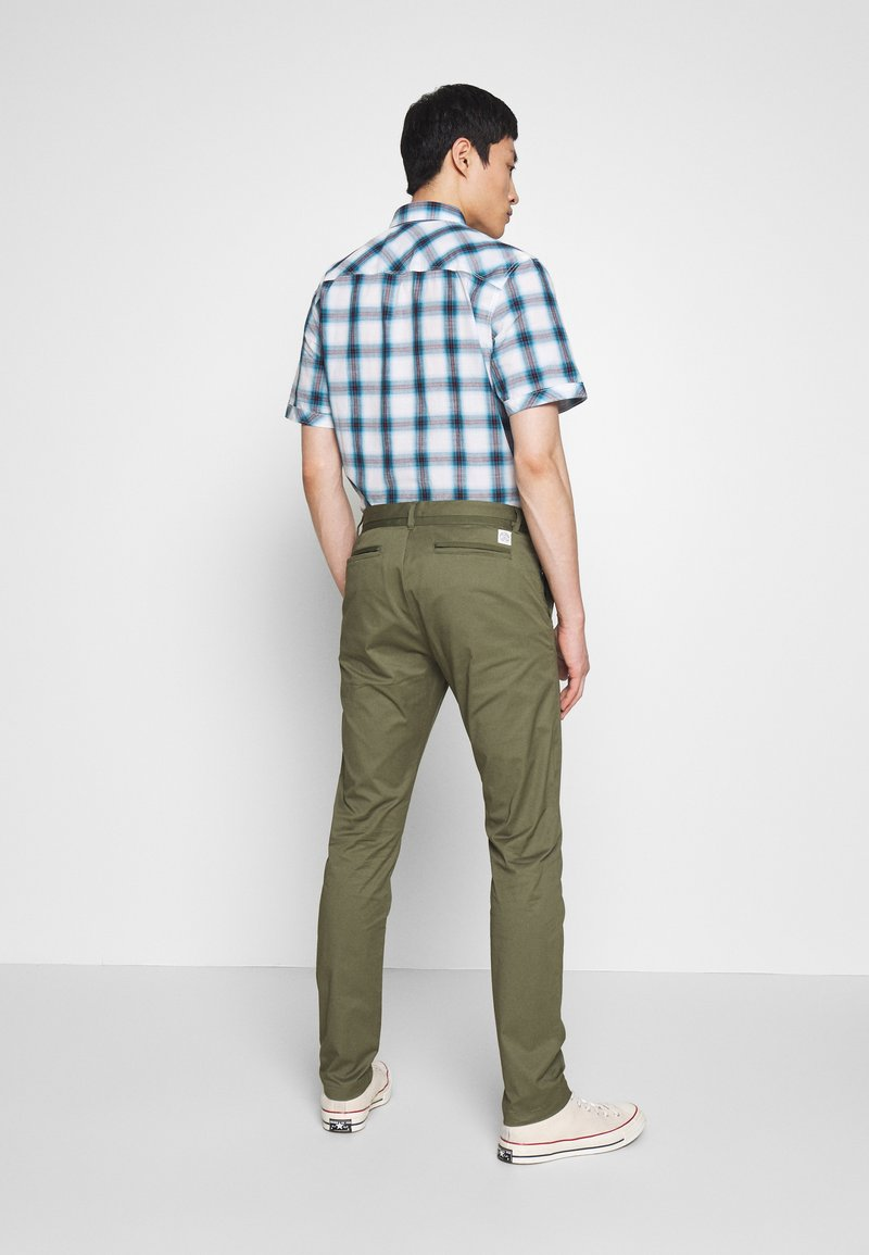 TOM TAILOR TECH - Chinos - olive night green