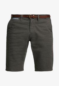 TOM TAILOR - ESSENTIAL - Shorts - grey houndstooth design - 3