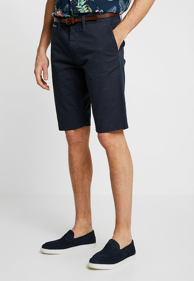 TOM TAILOR - ESSENTIAL - Shorts - outer space blue