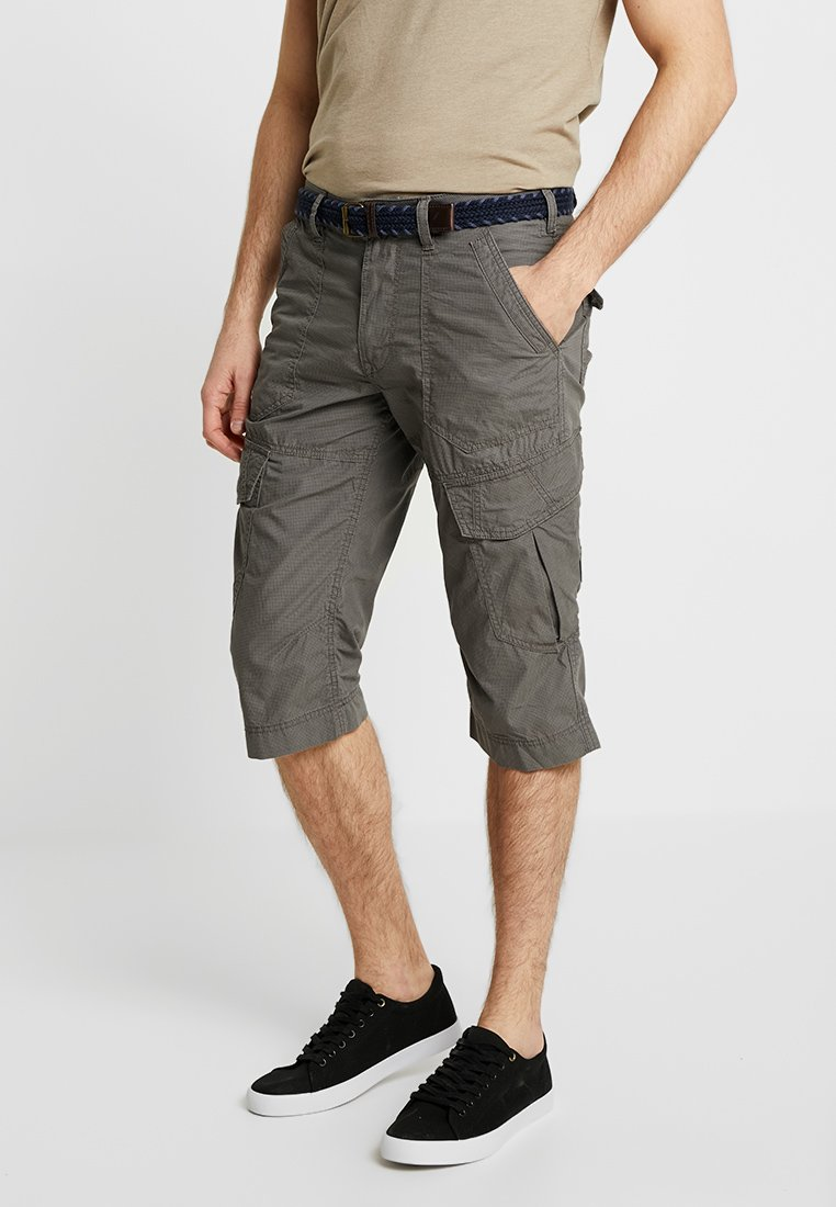 TOM TAILOR - MORRIS - Shorts - grey