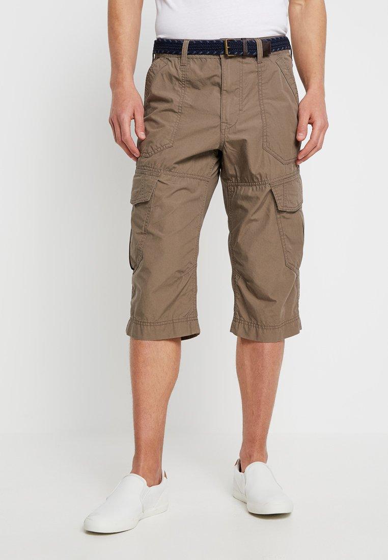 TOM TAILOR - MORRIS - Shorts - dark greige