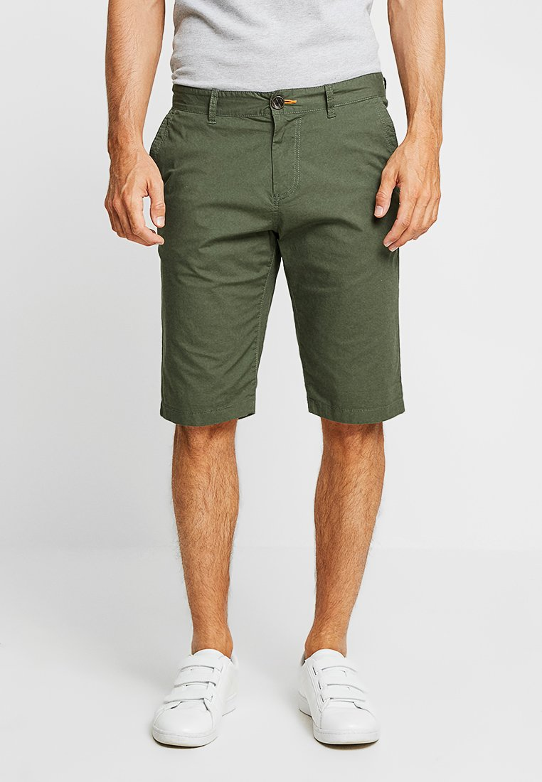 TOM TAILOR - Shorts - dark thyme green