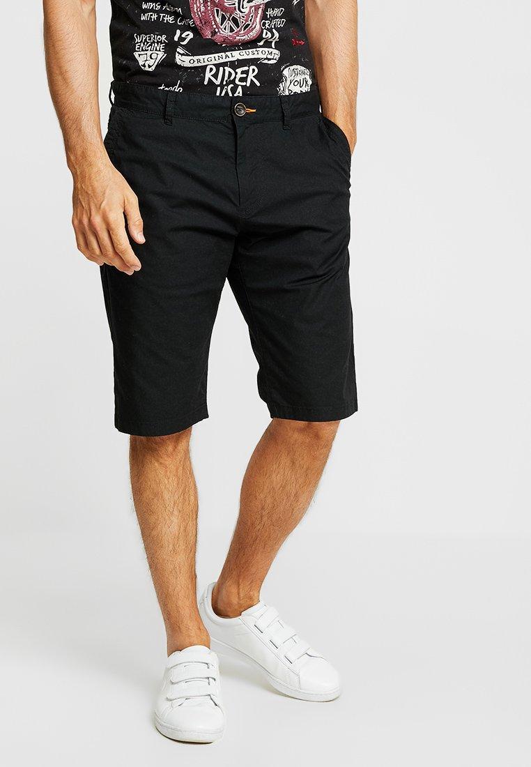 TOM TAILOR - Shorts - black