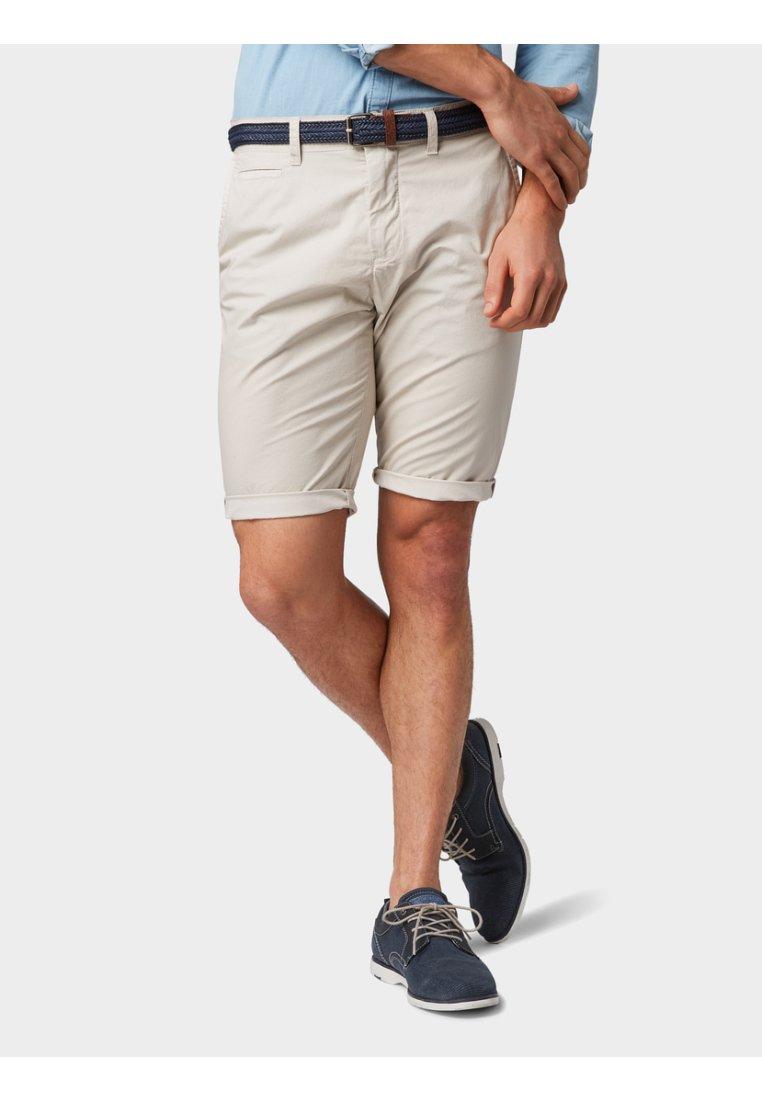 TOM TAILOR - Shorts - beige